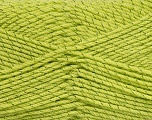 Fiber Content 95% Acrylic, 5% Metallic Lurex, Brand Ice Yarns, Green, fnt2-44582