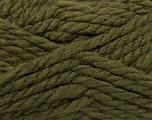 Fiber Content 50% Wool, 50% Dralon, Khaki, Brand Ice Yarns, fnt2-44610