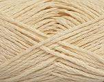 Fiber Content 55% Cotton, 45% Viscose, Brand Ice Yarns, Cream, fnt2-44853