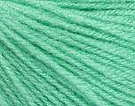 Fiber Content 100% Acrylic, Brand Ice Yarns, Baby Green, Yarn Thickness 2 Fine  Sport, Baby, fnt2-46673
