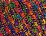 Trellis  Fiber Content 95% Polyester, 5% Lurex, Yellow, Purple, Orange, Brand Ice Yarns, Green, Blue, Yarn Thickness 5 Bulky  Chunky, Craft, Rug, fnt2-46694