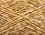 Fiber Content 87% Cotton, 13% Polyester, Brand ICE, Gold, Cream, fnt2-48556