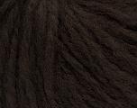 Fiber Content 60% Acrylic, 40% Wool, Brand ICE, Dark Brown, Yarn Thickness 4 Medium  Worsted, Afghan, Aran, fnt2-48785