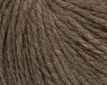 Fiber Content 60% Acrylic, 40% Wool, Brand ICE, Brown, Yarn Thickness 4 Medium  Worsted, Afghan, Aran, fnt2-48786