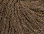 Fiber Content 60% Acrylic, 40% Wool, Brand ICE, Fox Brown, Yarn Thickness 4 Medium  Worsted, Afghan, Aran, fnt2-48787