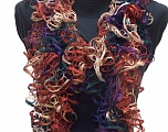 Please be advised that this is not a yarn, but a pre-made item. Fiber Content 100% Acrylic, Teal, Purple, Navy, Brand ICE, Copper, Camel, smp-347