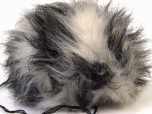 Diameter around 7cm (3&amp) White, Yarn Thickness Other, Brand ICE, Grey Shades, acs-547