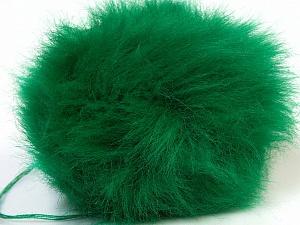 Diameter around 7cm (3&amp) Yarn Thickness Other, Brand ICE, Green, acs-552