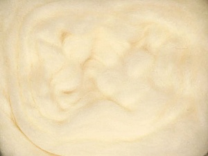 50gr-1.8m (1.76oz-1.97yards) 100% Wool felt Fiber Content 100% Wool, Yarn Thickness Other, Brand ICE, Cream, acs-922