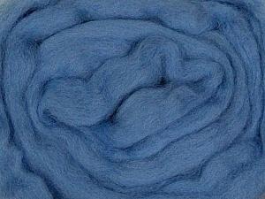 50gr-1.8m (1.76oz-1.97yards) 100% Wool felt Fiber Content 100% Wool, Yarn Thickness Other, Indigo Blue, Brand ICE, acs-948