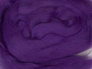 50gr-1.8m (1.76oz-1.97yards) 100% Wool felt Fiber Content 100% Wool, Purple, Yarn Thickness Other, Brand ICE, acs-969