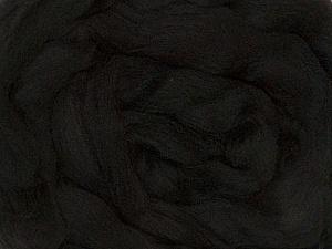 50gr-1.8m (1.76oz-1.97yards) 100% Wool felt Fiber Content 100% Wool, Yarn Thickness Other, Brand Ice Yarns, Black, acs-978