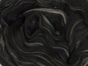 50gr-1.8m (1.76oz-1.97yards) 100% Wool felt Fiber Content 100% Wool, Yarn Thickness Other, Brand Ice Yarns, Cream, Black, acs-983