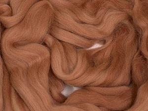 50gr-1.8m (1.76oz-1.97yards) 100% Wool felt Fiber Content 100% Wool, Rose Brown, Brand Ice Yarns, acs-1105