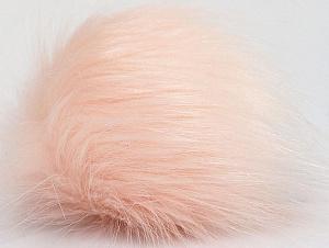 Diameter around 7cm (3&) Powder Pink, Brand ICE, acs-1181