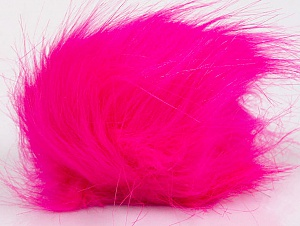 Diameter around 7cm (3&amp) Neon Pink, Brand ICE, acs-1189