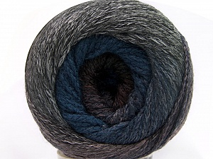 Fiber Content 90% Acrylic, 10% Polyamide, Pink, Brand ICE, Grey Shades, Blue Shades, Yarn Thickness 4 Medium  Worsted, Afghan, Aran, fnt2-50148