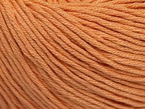 Fiber Content 60% Bamboo, 40% Cotton, Light Salmon, Brand ICE, Yarn Thickness 3 Light  DK, Light, Worsted, fnt2-50538