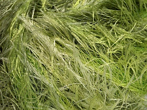 Fiber Content 100% Polyester, Brand ICE, Green Shades, Yarn Thickness 5 Bulky  Chunky, Craft, Rug, fnt2-51307