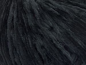 Fiber Content 100% Polyester, Brand ICE, Black, Yarn Thickness 1 SuperFine  Sock, Fingering, Baby, fnt2-51362