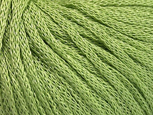 Fiber Content 68% Acrylic, 32% Polyamide, Light Green, Brand ICE, Yarn Thickness 4 Medium  Worsted, Afghan, Aran, fnt2-51386