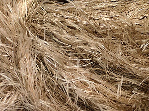 Fiber Content 100% Polyester, Brand Ice Yarns, Camel, Beige, Yarn Thickness 5 Bulky  Chunky, Craft, Rug, fnt2-51608