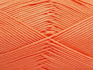 Fiber Content 50% Acrylic, 50% Bamboo, Light Salmon, Brand ICE, Yarn Thickness 2 Fine  Sport, Baby, fnt2-51663