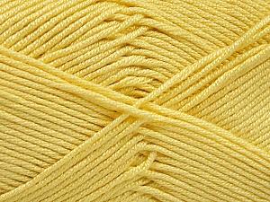 Fiber Content 50% Acrylic, 50% Bamboo, Yellow, Brand ICE, Yarn Thickness 2 Fine  Sport, Baby, fnt2-51665