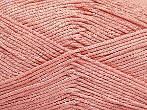 Fiber Content 50% Bamboo, 50% Acrylic, Light Rose Pink, Brand ICE, Yarn Thickness 2 Fine  Sport, Baby, fnt2-51669