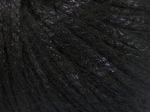 Fiber Content 70% Polyamide, 19% Merino Wool, 11% Acrylic, Brand ICE, Black, Yarn Thickness 4 Medium  Worsted, Afghan, Aran, fnt2-52015