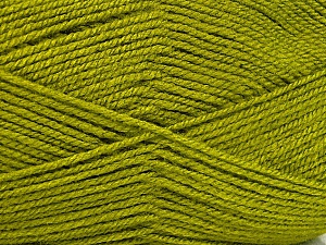 Fiber Content 100% Acrylic, Olive Green, Brand ICE, Yarn Thickness 3 Light  DK, Light, Worsted, fnt2-52081