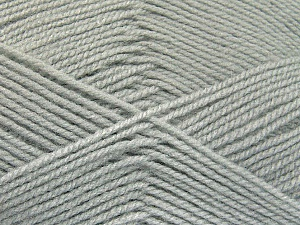 Fiber Content 100% Baby Acrylic, Light Grey, Brand Ice Yarns, Yarn Thickness 2 Fine  Sport, Baby, fnt2-52123
