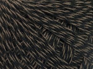 Fiber Content 70% Acrylic, 30% Wool, Brand ICE, Camel, Black, Yarn Thickness 2 Fine  Sport, Baby, fnt2-52195