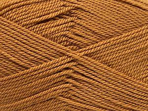 Fiber Content 100% Acrylic, Light Brown, Brand ICE, Yarn Thickness 2 Fine  Sport, Baby, fnt2-52310