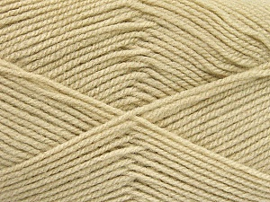 Fiber Content 100% Baby Acrylic, Brand ICE, Beige, Yarn Thickness 2 Fine  Sport, Baby, fnt2-52348