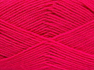Fiber Content 100% Baby Acrylic, Brand ICE, Fuchsia, Yarn Thickness 2 Fine  Sport, Baby, fnt2-52350