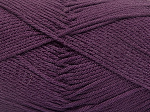 Baby cotton is a 100% premium giza cotton yarn exclusively made as a baby yarn. It is anti-bacterial and machine washable! Fiber Content 100% Giza Cotton, Maroon, Brand ICE, Yarn Thickness 3 Light  DK, Light, Worsted, fnt2-52557