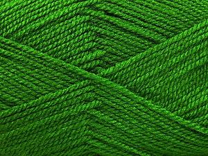 Fiber Content 100% Acrylic, Brand ICE, Green, Yarn Thickness 2 Fine  Sport, Baby, fnt2-52727