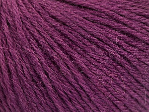 Fiber Content 55% Baby Alpaca, 45% Superwash Extrafine Merino Wool, Maroon, Brand ICE, Yarn Thickness 3 Light  DK, Light, Worsted, fnt2-52768