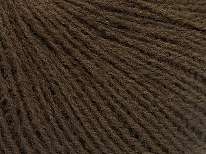 Fiber Content 70% Acrylic, 30% Wool, Brand ICE, Brown, Yarn Thickness 2 Fine  Sport, Baby, fnt2-52854