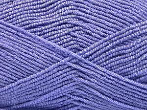 Fiber Content 50% Bamboo, 50% Acrylic, Lilac, Brand Ice Yarns, Yarn Thickness 2 Fine  Sport, Baby, fnt2-53099
