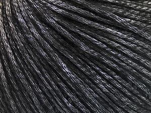 Fiber Content 60% Polyamide, 21% Acrylic, 19% Merino Wool, Silver, Brand ICE, Black, Yarn Thickness 3 Light  DK, Light, Worsted, fnt2-53750