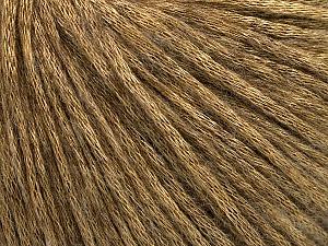 Fiber Content 60% Polyamide, 21% Acrylic, 19% Merino Wool, Brand ICE, Gold, Camel, Yarn Thickness 3 Light  DK, Light, Worsted, fnt2-53752
