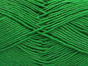 Fiber Content 100% Mercerised Cotton, Brand ICE, Green, Yarn Thickness 2 Fine  Sport, Baby, fnt2-53788