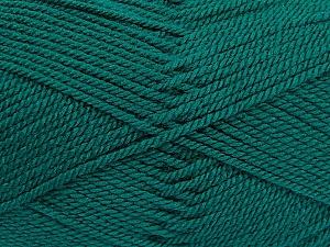 Fiber Content 100% Acrylic, Brand ICE, Dark Green, Yarn Thickness 2 Fine  Sport, Baby, fnt2-53822