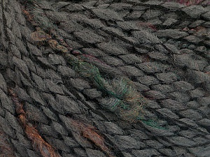 Fiber Content 53% Acrylic, 35% Wool, 12% Polyamide, Brand ICE, Grey, Yarn Thickness 4 Medium  Worsted, Afghan, Aran, fnt2-53932