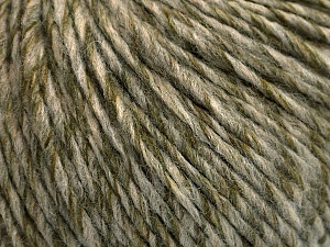 Fiber Content 50% Acrylic, 50% Wool, Light Khaki, Brand ICE, Grey, Beige, Yarn Thickness 4 Medium  Worsted, Afghan, Aran, fnt2-53956