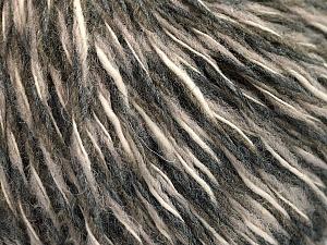 Fiber Content 50% Wool, 50% Acrylic, Light Pink, Brand ICE, Grey Shades, Cream, Yarn Thickness 3 Light  DK, Light, Worsted, fnt2-53961