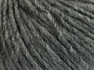 Fiber Content 50% Acrylic, 50% Wool, Brand ICE, Grey Melange, Yarn Thickness 5 Bulky  Chunky, Craft, Rug, fnt2-54030