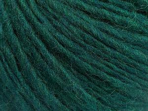Fiber Content 50% Wool, 50% Acrylic, Brand ICE, Emerald Green, Yarn Thickness 5 Bulky  Chunky, Craft, Rug, fnt2-54035